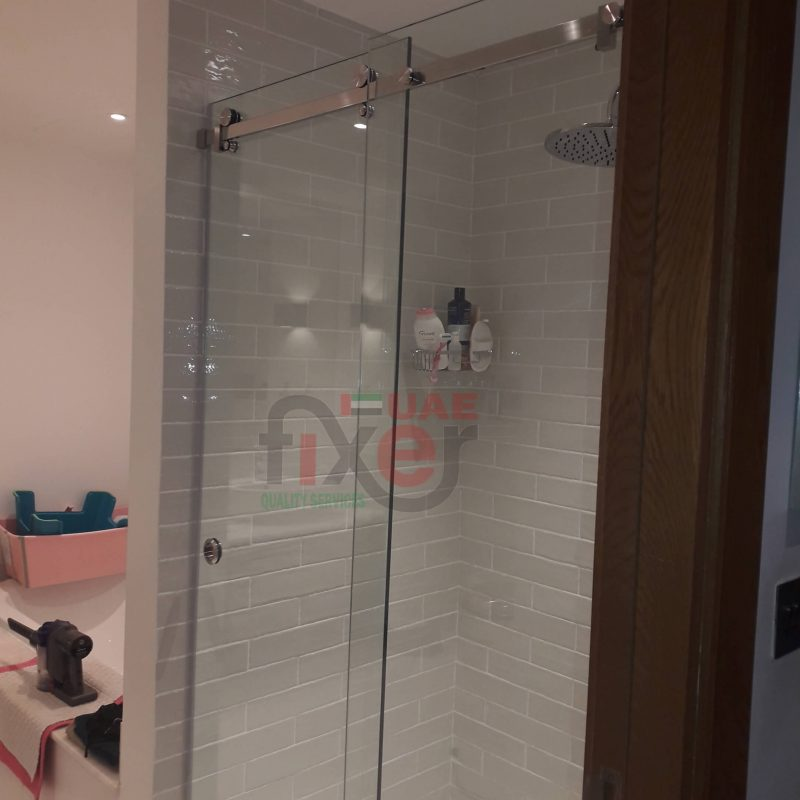 Sliding Shower without Handle